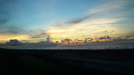 Grand Isle Sunrise