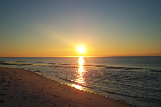 Sunrise on Navarre Beach, Florida