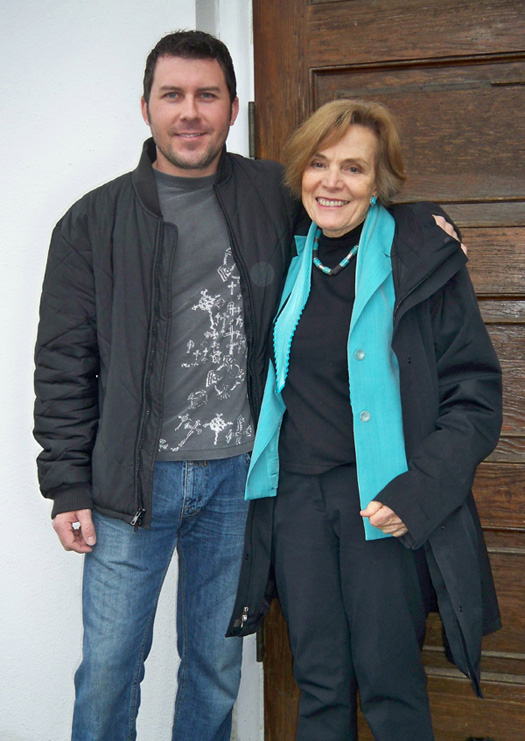Sylvia Earle and Brandon Sutton